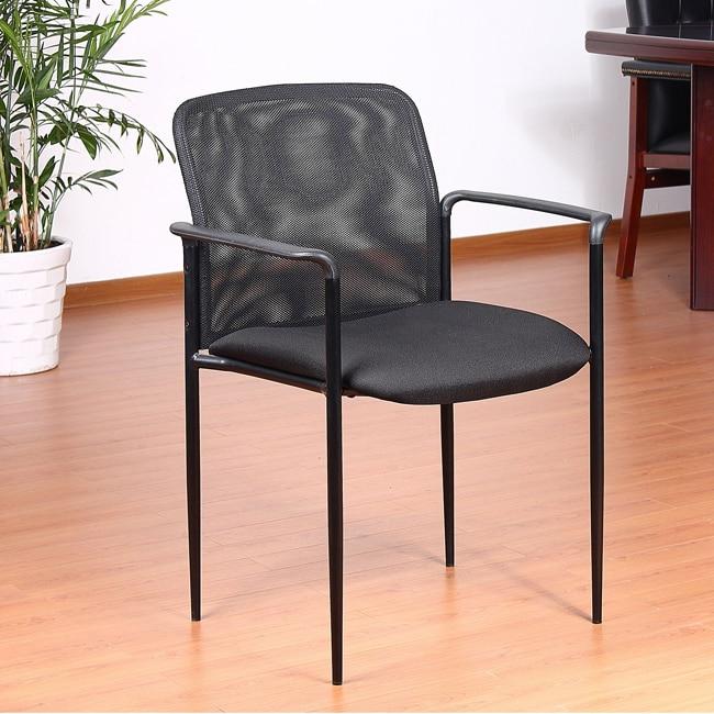Aragon Stackable Mesh Guest Chair