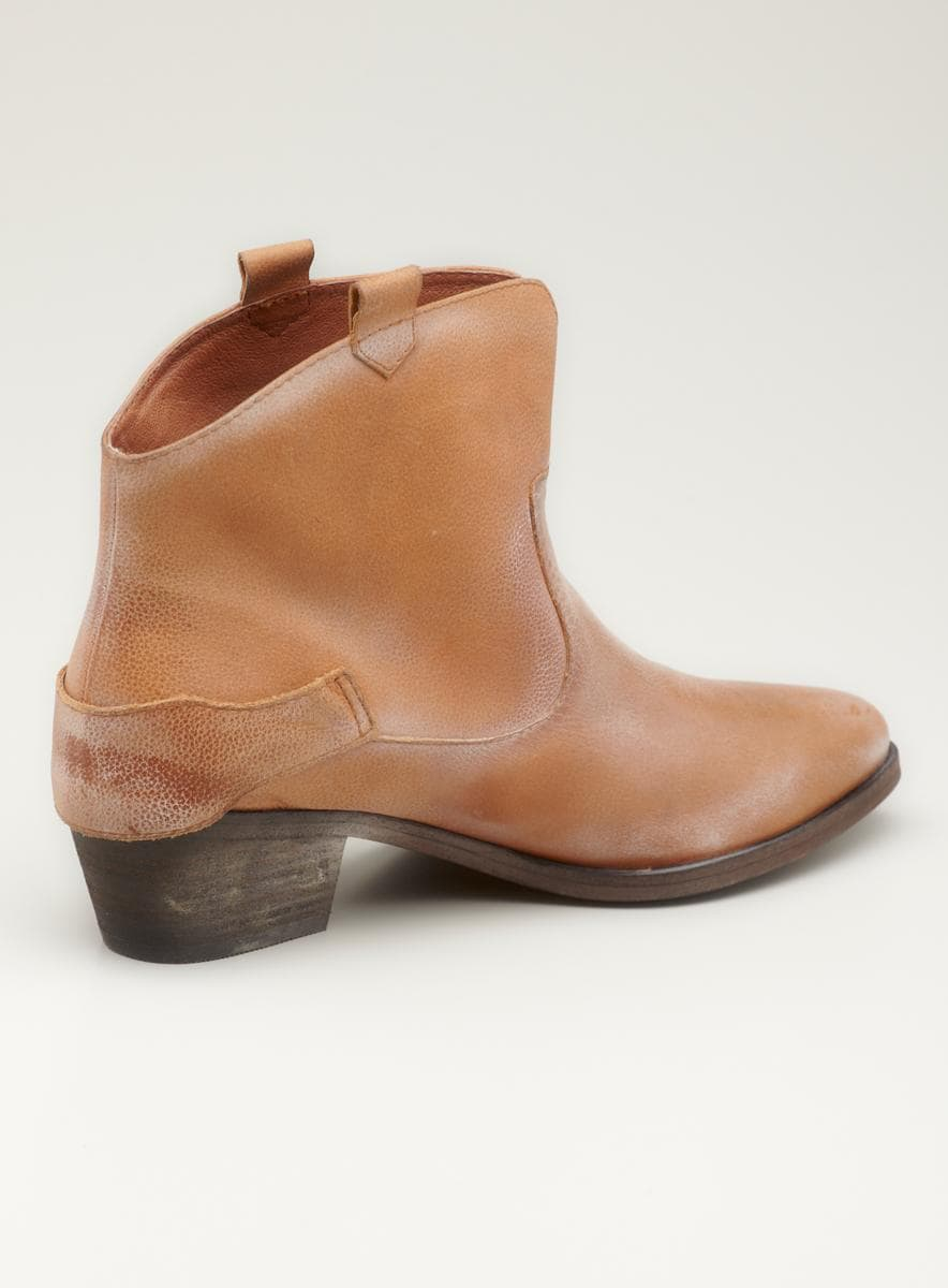 Joie Western Ankle Bootie with Harness detail