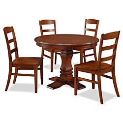 Aspen Collection Pedestal Dining Set