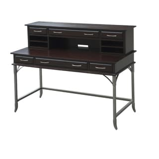 Bordeaux Executive Desk and Hutch
