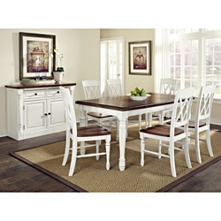 Monarch Dining Table and Chairs | Overstock.com Shopping - Big ...