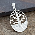 Sterling Silver Tree Of Life Pendant (Thailand)