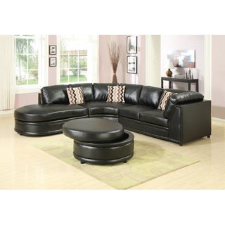Bonded Leather Sophia Sectional