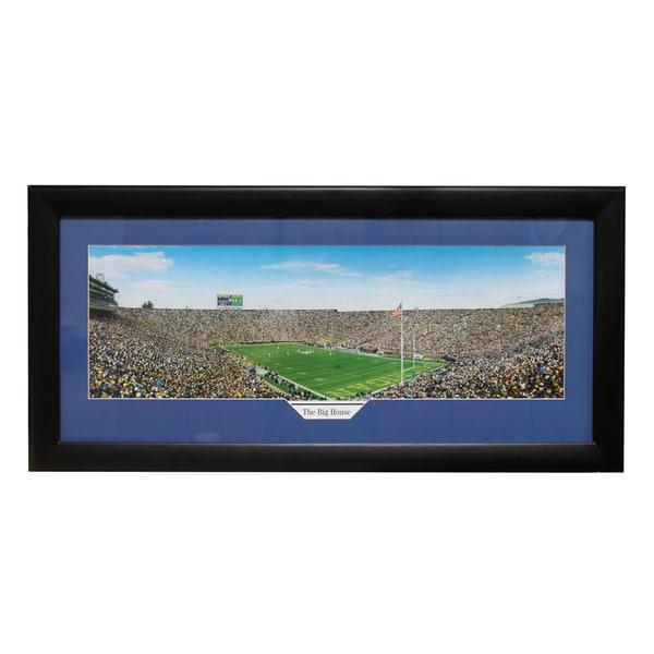 Michigan University 'The Big House' Panoramic Frame