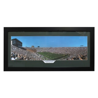 Notre Dame 'Fighting Irish' Panoramic Framed Photo