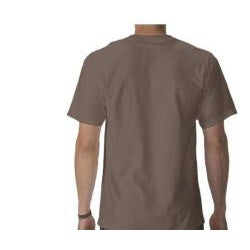 Men's Brown 'Pie Chart' T-shirt
