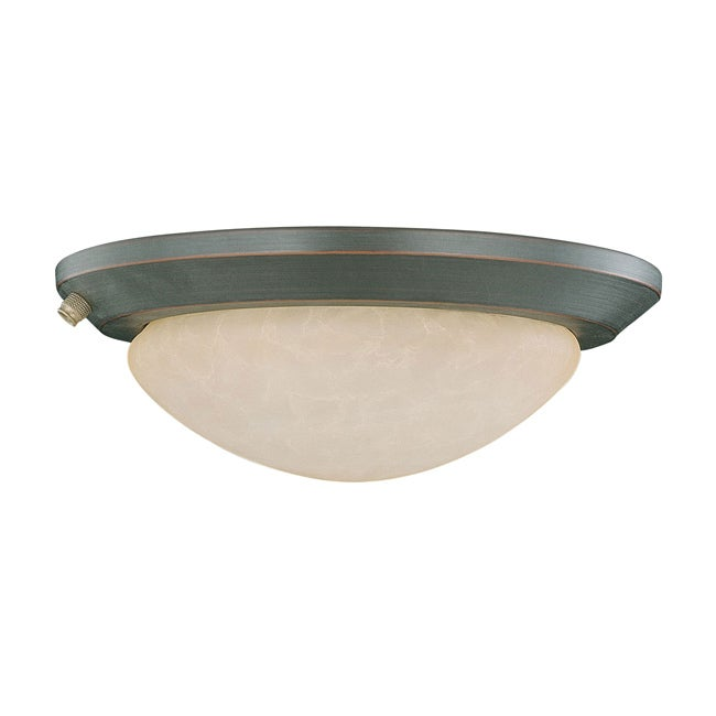 One Light Oil Rubbed Bronze CFL Fixture