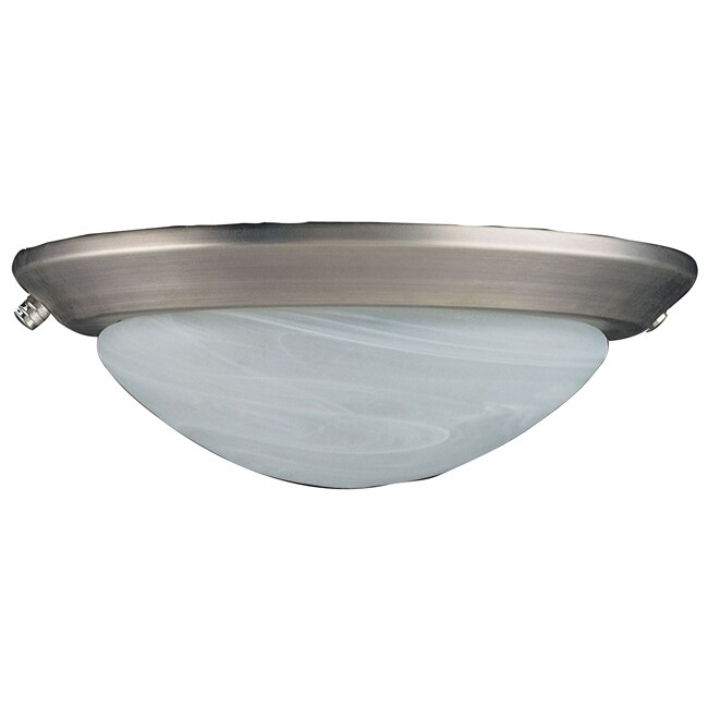 One Light Pewter CFL Fixture
