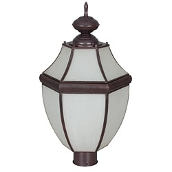 One-Light Steel Post Lantern