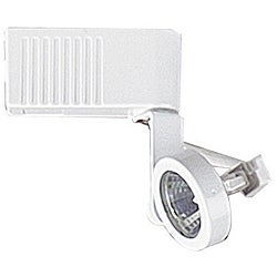 White 50-Watt Single-Head Track Light