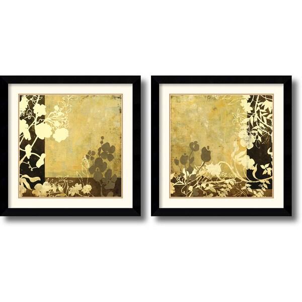 Kemp 'Symphony in Bronze' Framed Art Print Set