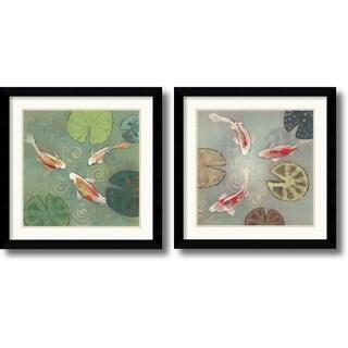 Aleah Koury 'Floating Motion' Framed Art Print Set