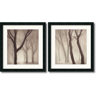 Gretchen Hess 'Forest' Framed Art Print Set 20 x 22-inch (Each)