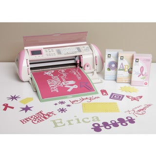 Cricut Pink Expression Die Cutting Machine with 3 cartridges