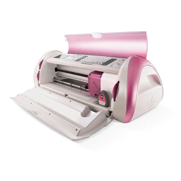 "Cricut Pink Expression Die Cutting Machine with 3 cartridges ""Breast Cancer Limited Edition"""