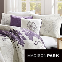 Madison Park Bridgette 6-piece Duvet Cover Set