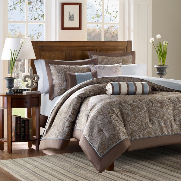 Madison Park Whitman 6-Piece Duvet Cover Set