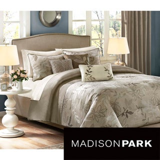 Madison Park 'Nadia' 6-piece Duvet Cover Set