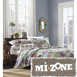 Mizone Asha 4-piece Paisley Quilt Set