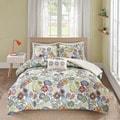 Mizone Asha Printed Paisley 4-piece Comforter Set
