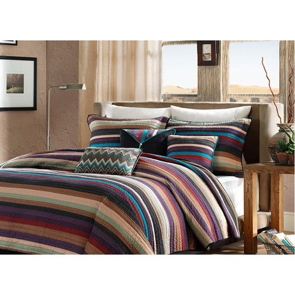Madison Park 'Sequoia' 6-piece Coverlet Set