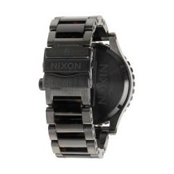 Nixon Men's 51-30 Matte Black and Tortoise Watch