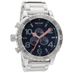 Nixon Men's 51-30 Chronograph Navy Watch