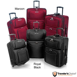 Traveler's Choice TC5100 'El Dorado' 3-piece Ballistic Nylon Luggage Set