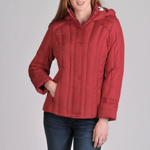 Nuage Woman's Hooded Melbourne Down Jacket