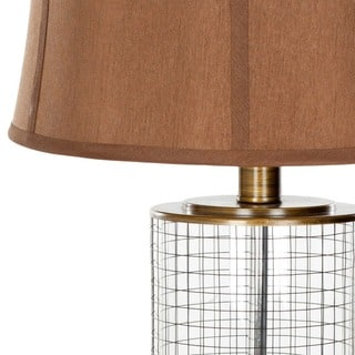 Safavieh Lighting 26.5-inch Glass Cage Table Lamps (Set of 2)