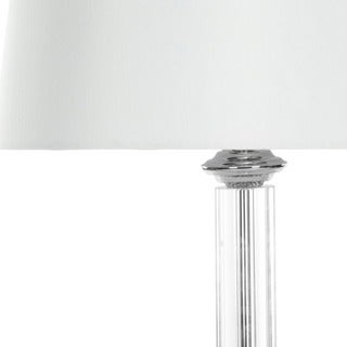 Safavieh Lighting 29.5-inches Cylinder Glass Table Lamps (Set of 2)