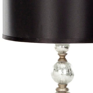Safavieh Lighting 28-inches Mercury Glass Silver Finish Table Lamps (Set of 2)