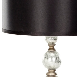Safavieh Lighting 28-inch Mercury Glass Silver Finish Table Lamps (Set of 2)