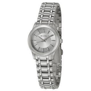 Bulova Women&#39;s Stainless Steel Bracelet Watch