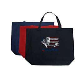 Los Angeles Pop Art Barack Obama Tote Bag