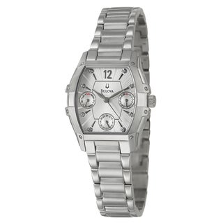 Bulova Women's 96P127 Stainless Steel Chronograph Watch