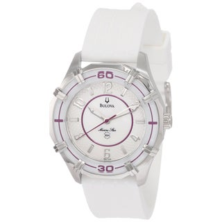 Bulova Women's Stainless Steel 'Marine Star' Watch