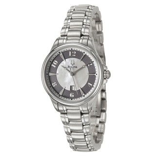 Bulova Women's Stainless Steel 'Adventurer' Watch