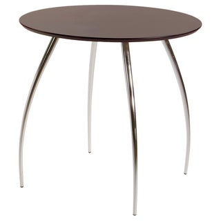 Euro Style 30-inch Wenge Round Bistro Table