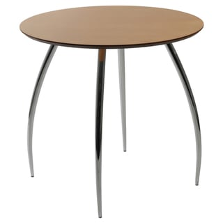Euro Style 30-inch Natural Round Bistro Table