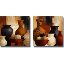 Lanie Loreth 'Spiced Vessels I and II' 2-piece Canvas Art Set