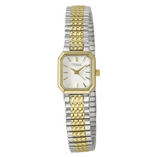 Caravelle Women's Yellow Gold-plated Stainless Steel 'Expansion' Watch