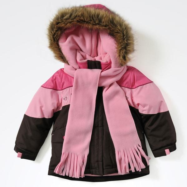 Rothschild Infant Girls' Embroidered Jacket