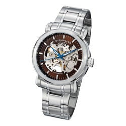 Stuhrling Original Men's 'Delphi Antium' Automatic Skeleton Bracelet Watch
