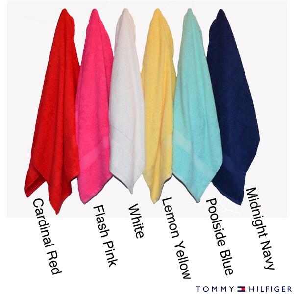 Tommy Hilfiger Cotton 3-piece Towel Set