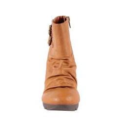 Jacobies by Beston Women's 'Tina-4' Camel Booties