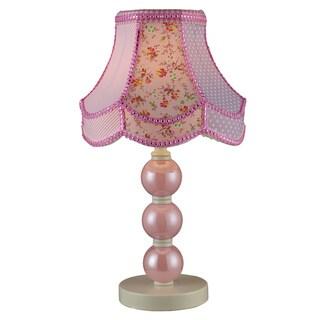 Dimond Lighting Ellie 1-Light Pink Table Lamp