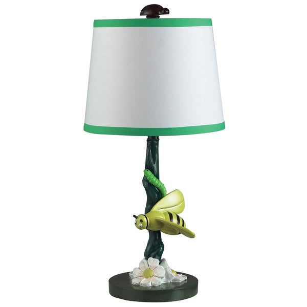 Dimond Lighting Bruce the Bee 1-Light Painted Table Lamp