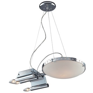 Elk Lighting Starship 4-Light Chrome Pendant