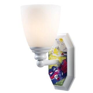 Elk Lighting Automobiles 1-Light White Wall Sconce